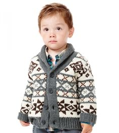 Reverse Intrasia Sweater