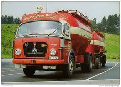CAMION - SAURER 5DF - CA. 1970 - CM. 11 X 16 - N 059 - Camions & Poids Lourds