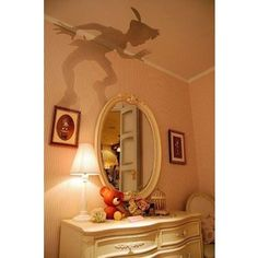 Peter Pan shadow, perfect for a kids room