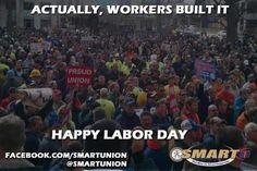 Happy Labor Day America!