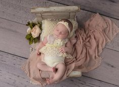Lace baby girl outfit newborn romper photo prop first photo   Etsy