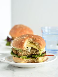 Gluten Free Spicy Black Bean Oat Burgers | NOURISHEDtheblog.com | A simple and easy black bean burger recipe with a little spicy kick. #vegetarian #glutenfree #veggieburgers