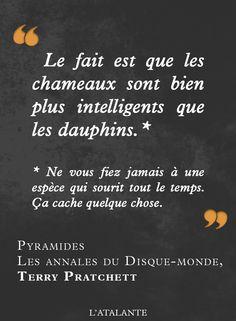 Pyramides, Les Annales du Disque-monde de Terry Pratchett #book #quote⎢Citations