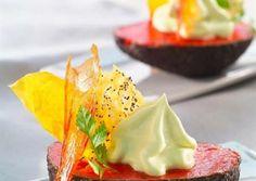 Recette de Mousse d'Avocat au Coulis de Poivron rouge | Guy Demarle