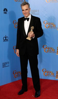 Daniel Day-Lewis won the award for Best Actor at the Golden Globes 2013