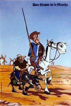 Póster en relieve de la serie DON QUIJOTE DE LA MANCHA (1979)
