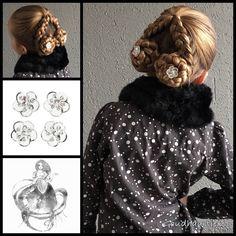 Dutch swirls with gorgeous curlies from the webshop www.goudhaartje.nl (worldwide shipping).   Hairstyle inspired by: @sweethearts_hair_design (instagram , facebook)  #hair #hairstyle #braid #braids #hairstylesforgirls #plait #trenza #peinando #прическа #pricheska #ヘアスタイル  #髮型 #suomiletit #zöpfe #frisuren #vlegsels #fläta #fletning #beautifulhair #gorgeoushair #stunninghair #hairaccessories #hairinspo #braidideas #goudhaartje