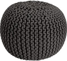 Buy Argos Home Cotton Knitted Pod Footstool - Charcoal at Argos. Thousands of products for same day delivery or fast store collection. Small Game Rooms, Free Fabric Samples, Velvet Quilt, Laid Back Style, Argos, Baby Shop, Soft Furnishings, Decoration, Accessories