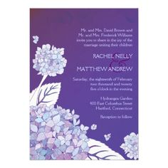 ReviewPurple Hydrangeas in Sunset Formal Wedding InvitesYes I can say you are on right site we just collected best shopping store that have