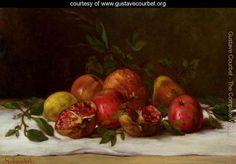 Still Life, c.1871-72 - Gustave Courbet - www.gustavecourbet.org