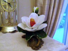 1993 Porcelain PS Porcelain Limited Edition China Magnolia Flower  #301530