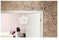 Beautiful new design #uppercaseliving #roses