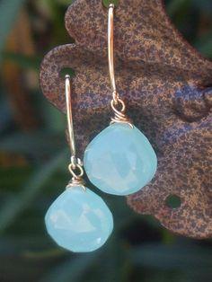 pinned by www.winnieandclem.com.au  Dangle EarringsEarwire earringsGold Filled by Stylojewelry on Etsy, $20.00