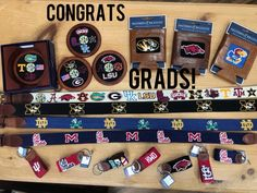 Find the best graduation gifts at Fun in the Sun! Needlepoint favorites from Smathers & Branson!  We can order more options too!  Shop Fun!  Shop Local!  Downtown Kirkwood & Chesterfield!