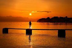 'The shining silhouette' by Hercules Milas Silhouette S, The Shining, Hercules, Travel Mug, Greek Sea, Greece, Art Prints, Sunrises, Golden Hour