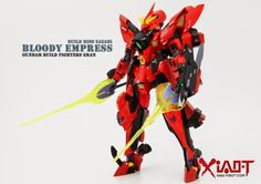 GUNDAM GUY: 1/144 Miss Sazabi 'Bloody Express' - Custom Build