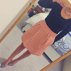 Love a good party skirt to celebrate Friday Follow me on instagram @saramathews