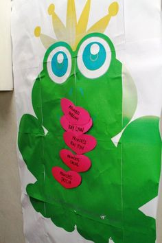 Pin the kiss on the frog prince cute for a princess birthday party