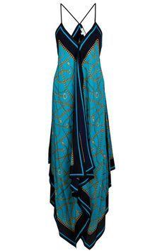 De seda tipo pañuelo carré de Michael Kors. De la playa al trabajo, los 25 vestidos largos del verano