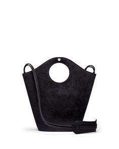 Market Small Suede Shopper Tote Bag by Elizabeth and James at Neiman Marcus.