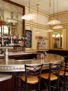 Bouchon Bistro - Bar Bouchon  235 N. Cañon Drive, Beverly Hills, (310) 271-9910. Bar menu, $3 to $23.