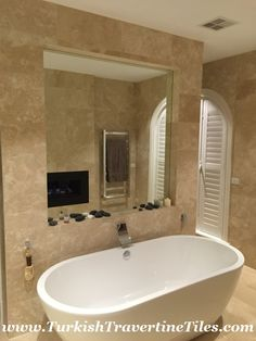 Create Photo Gallery For Website Filled Travertine Tiles Travertine bathroom