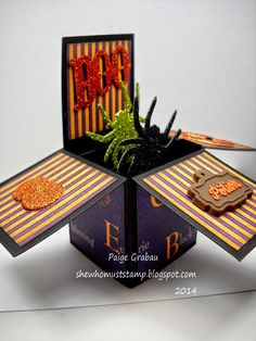 She Who Must Stamp: 3D Halloween Card
