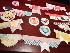 DIY embellishments using scraps | Workspace Wednesday