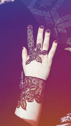Arabic Bridal Mehndi Designs, Pretty Henna Designs, Rose Mehndi Designs, Khafif Mehndi Design, Mehndi Designs For Girls, Mehndi Designs For Beginners, Modern Mehndi Designs, Mehndi Design Photos, Latest Mehndi Designs