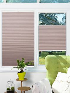 Duoshade Lavender Blush EasiFIT Blind from conservatory blinds 2go
