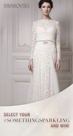 This would be a beautiful #wedding #gown for a mature #bride