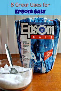 8 Great Uses for Epsom Salt