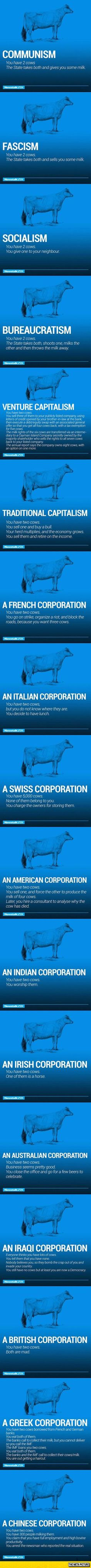 The World's Economy Explained With Just Two Cows (ME)