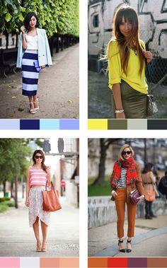 How to pair colours: Analogous colour palettes