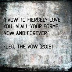 Best wedding vows ever...
