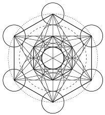 metatron's cube (tree of life) Cubes, Sacred Geometry Tattoo, Flash Art, Sacred Art, Crystal Grid, Mandala Tattoo, Third Eye, Machine Embroidery Designs, Tatting