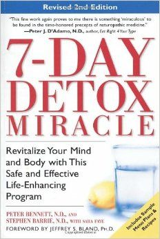 This is the first detox I ever did and it is Amazing! It was like 10 years ago but I believe I lost 15lbs. in a week and felt amazing. It was not easy but worth it. I have it on my shelf and thinking about grabbing it down.  - Jess