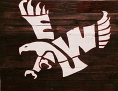 Eastern Washington University Pallet Sign