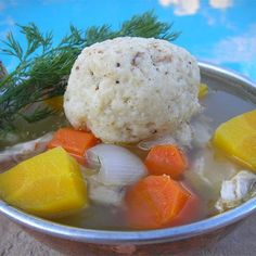 "Angel Family Chicken Soup with Matzo Balls | ""What a perfect comfort ..."