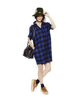 The Button Down Dress | Shop | HATCH Collection
