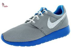Nike Roshe One (Gs), Baskets Basses Mixte Enfant, Gris-Gris / Azul, 37.5 EU - Chaussures nike (*Partner-Link)