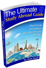 Get a Free copy of The ultimate Study abroad guide. (might have to come back to this later to get it)