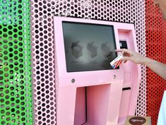 This ATM dispenses Sprinkles' cupcakes 24/7.