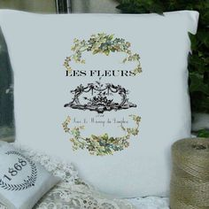 For the front porch settee shabby-french-typography-labels