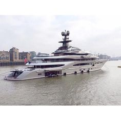 Mega yacht.Amazing, luxury, awesome, expensive, enormous, giant, modern, exclusive boat & yacht.