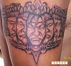 82 Tatuagens Astecas   Leles Tattoo