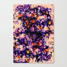 Wild Soul Stretched Canvas by Amy Sia - $85.00