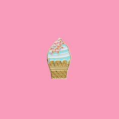 Enamel Lapel Pin from Lolli Swim x Museum of Ice Cream