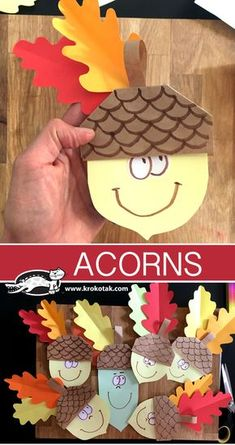 Here is our pick of easy fall crafts for kids! With these amazing ideas, you can create seasonal fall crafts for toddlers with them! Fall Paper Crafts, Fall Arts And Crafts, Easy Fall Crafts, Summer Crafts, Diy Paper, Fall Crafts For Toddlers, Thanksgiving Crafts For Kids, Toddler Crafts, Thanksgiving Activities