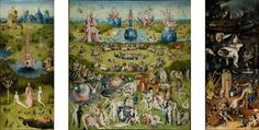 The Garden of Earthly Delights - Bosch Hieronymus